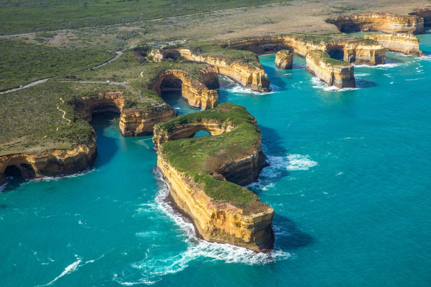 Great Ocean Road aus der Luft