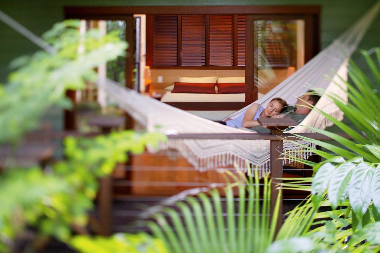 Entspannen in der Silky Oaks Lodge