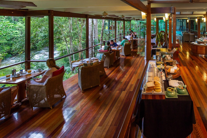 Silky Oaks Lodge: Das Restaurant