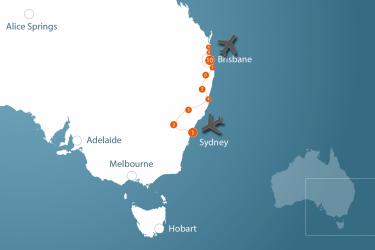 4-weekse reis door Australië van Sydney naar Brisbane