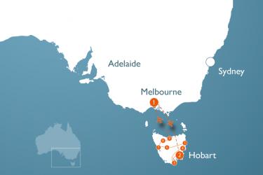 4-weekse rondreis Tasmanië