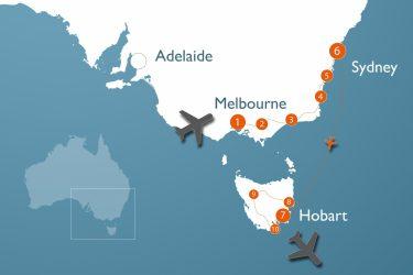 3,5 Wochen durch New South Wales und Tasmania über Neujahr