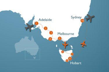 Alt Au 4 W Rondreis Zuid Australie En Tasmanie