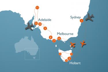 Alt Au 5 W Sydney Tasmanie Zuid Australie Outback
