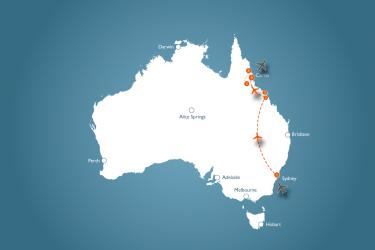 vakantie-australie-Sydney-cairns-Oostkust