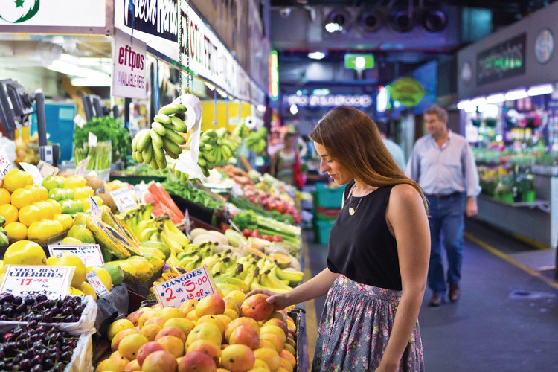 Nicht missen sollte man den Adelaide Central Food Market, ein wahres Mekka für Gourmets.