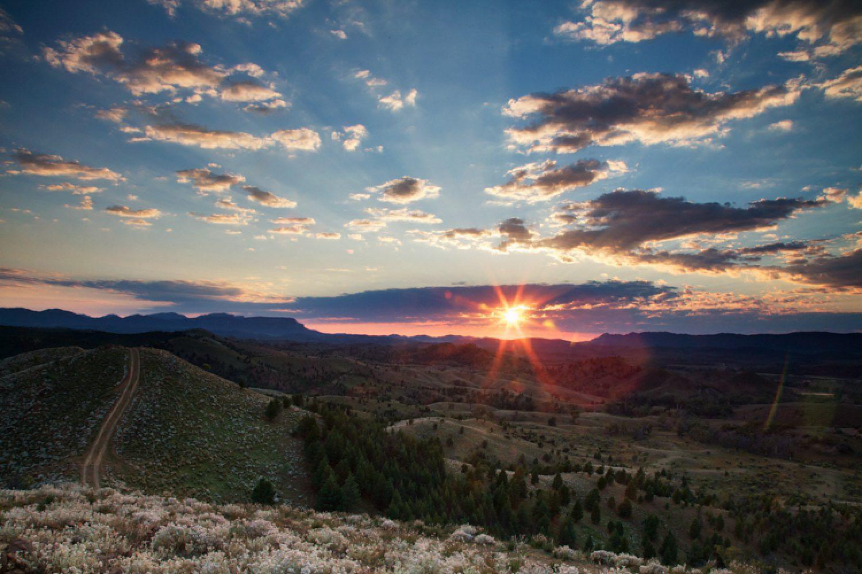 Sonnenaufgang über den Flinders Ranges