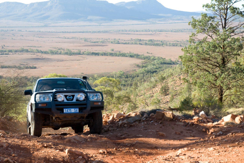 Wandern, Mountainbike-Touren, Rundflüge mit dem Kleinflugzeug oder Touren in einem 4WD-Jeep - die Flinders haben einiges zu bieten.