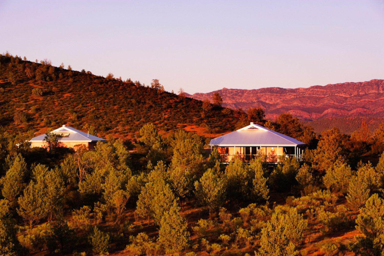 Die Ecovillas der Station bieten jede Menge Komfort im Outback.