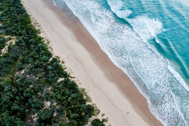 Der Ninety Mile Beach im Gippsland ist mit stolzen 145 Kilometern der längsten Sandstrand der Welt.