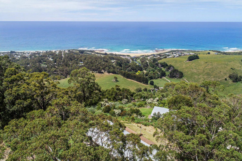 Ihr Ferienhaus in Apollo Bay im Stil einer Villa liegt auf einer Anhöhe.