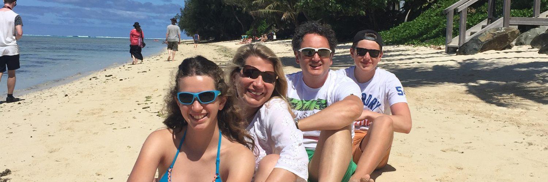 Familie Staudinger Am Strand