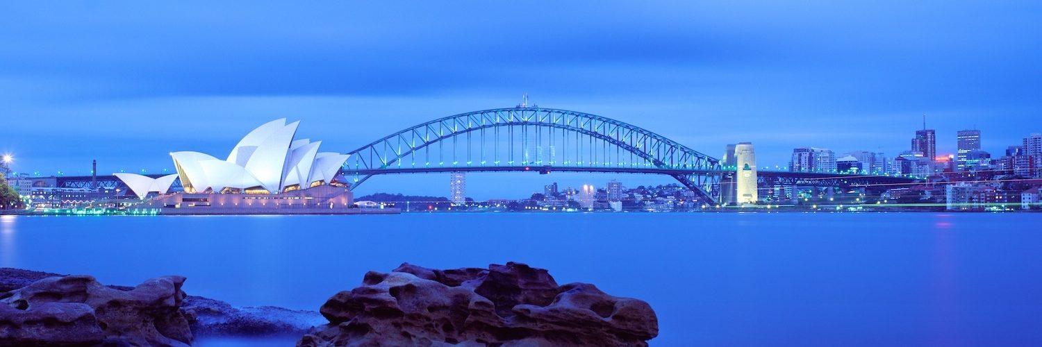 Australia  Sydney  Opera House  Harbour Bridge