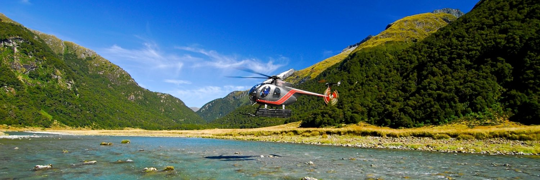 Neuseeland  Siberia Valley  Fiordland National