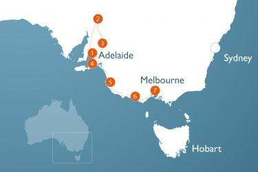 3 w 2 Pax SAVIC Adelaide bis Melbourne Outback Kuste und Genuss 19859