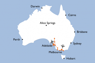 Map Best Of Victoria South Australia