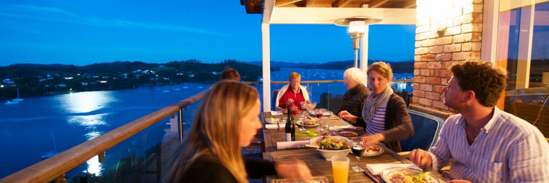 Neuseeland  Unterkunft  Abendessen