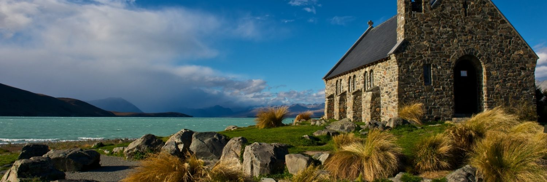 Neuseeland  Tekapo  Church Of The Good Shepherd