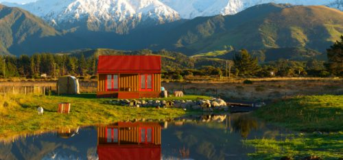 Neuseeland Kaikoura Winter