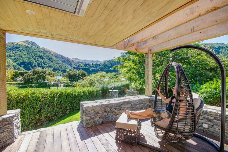 Ausblick von der Terrasse Ihrer Unterkunft