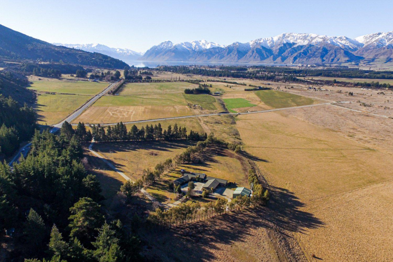 Das Bed& Breakfast ist von den schneebedeckten Southern Alps umgeben und liegt ganz in der Nähe von Lake Hawea und Lake Wanaka.