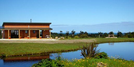 Cottages in Nieuw-Zeeland