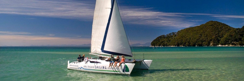 Abel Tasman Sailing Vakantie Nieuw Zeeland