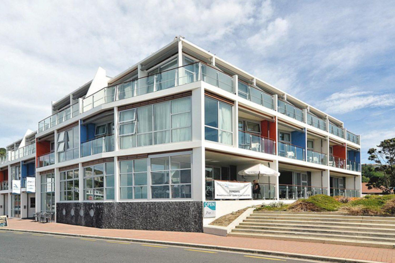 Ihre Unterkunft ist zentral an der Strandpromenade Dunedins gelegen.