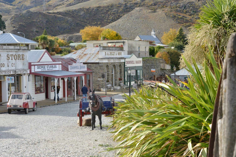 Arrowtown war einst ein Zentrum der Goldgewinnung in Neuseeland.