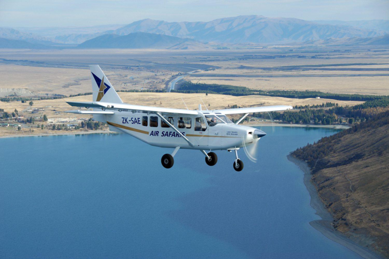 Begeben Sie sich auf einen 50-minütigen Rundflug über Mount Cook und den Westland National Park.