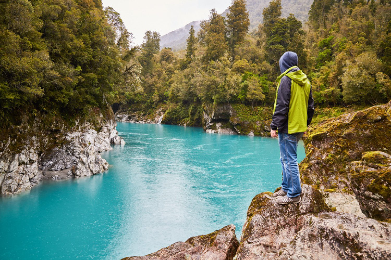 In Hokitika an der Westküste gibt es zahlreiche, interessante Wanderwege und Mountainbike-Trails und auch der Hokitika Gorge ist einen Besuch wert.