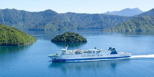 Ferry in Nieuw Zeeland