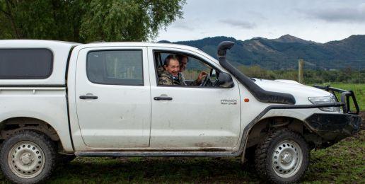 Man op reis in Nieuw-Zeeland: even jagen