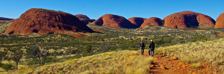 The Olgas Australia Walking