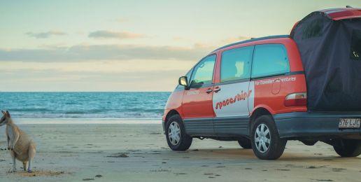 Reizen met een camper car in Australië