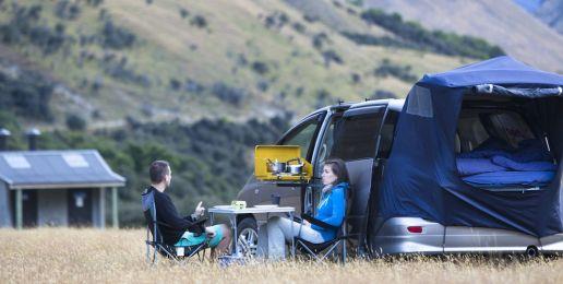 Reizen met een camper car in Nieuw-Zeeland