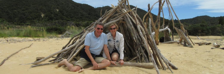 Reiservaring Nieuw-Zeeland en Australië van Wim en Geurtje
