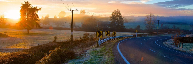 Travel Essence Rondreis Nieuw Zeeland Rijden Door Ansichtkaarten