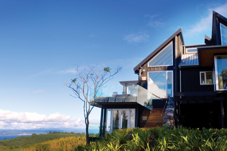 Acacia Cliff Lodge in het geothermische gebied Taupo