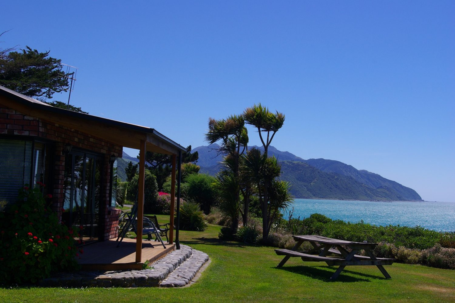 SurfWatch Getaway Cottages mit Ausblick