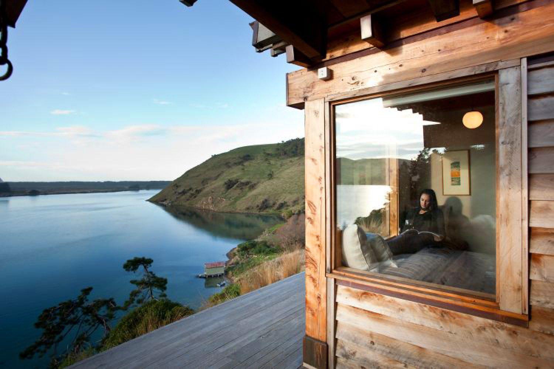 TravelEssence Ferienhäuser in Neuseeland Kaimata Eco Retreat Entspannen