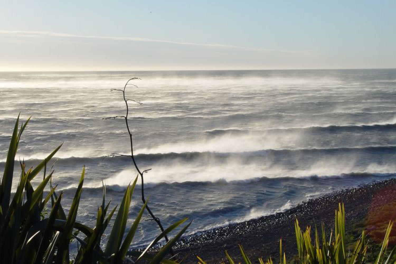 SurfWatch Getaway Cottages: Ausblick aufs Meer