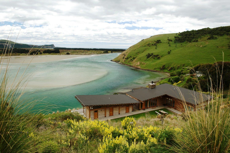 TravelEssence Ferienhäuser in Neuseeland Kaimata Eco Retreat Otago Papanui Inlet