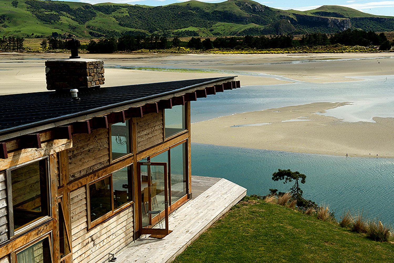 TravelEssence Ferienhäuser in Neuseeland Kaimata Eco Retreat Bucht