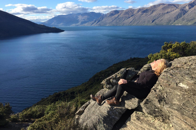 Machen Sie eine Wanderung am Lake Wanaka