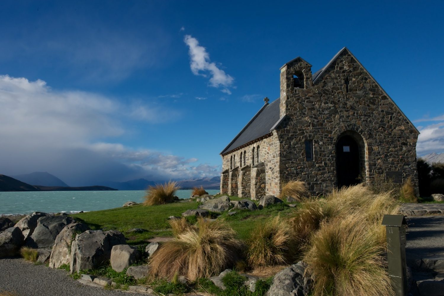 Lake Tekapo: Church Of The Good Old Shepard