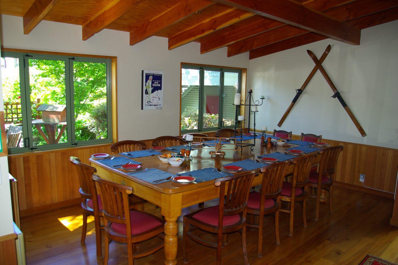 Te Wanaka Lodge am Lake Wanaka: Essbereich