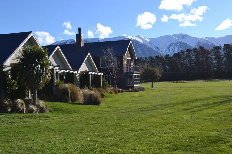 Das Lodge Guesthouse in Windwhistle bietet einen schönen Blick auf die umliegende Landschaft.