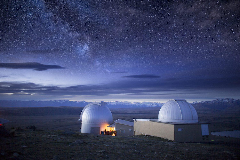 Wer einmal einen Blick in den nächtlichen Sternenhimmel werden möchte, sollte die Canterbury Sternwarte besuchen.
