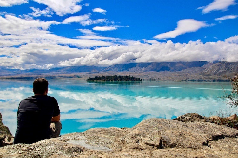 Panoram am Lake Tekapo